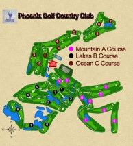 Phoenix Gold Golf & Country Club - Layout