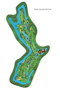 Royal Lakeside Golf Club - Layout