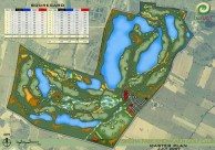Singha Park Khon Kaen Golf Club - Layout