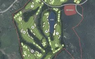 Stone Valley Golf Resort - Layout