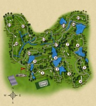 Tanjong Puteri Golf Resort, Plantation Course - Layout