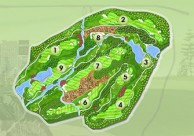 Twin Doves Golf Club - Layout