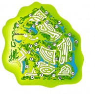 A'Famosa Golf & Country Club - Layout