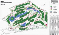 Borobudur International Golf & Country Club - Layout