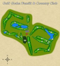 Golf Graha Famili & Country Club  - Layout