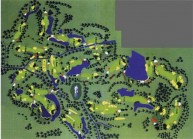 Thai Muang Beach Golf & Marina - Layout
