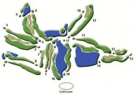 Van Tri Golf Club - Layout