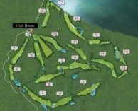 Luang Prabang Golf Club - Layout