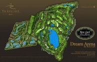 The Royal Gems Golf City - Dream Arena - Layout