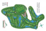 Thana City Golf & Sports Club - Layout